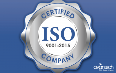 Avantech Attains ISO 9001:2015 Certification